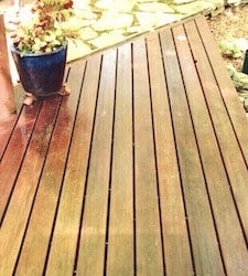Tropical Hardwood Decking - Greenheart