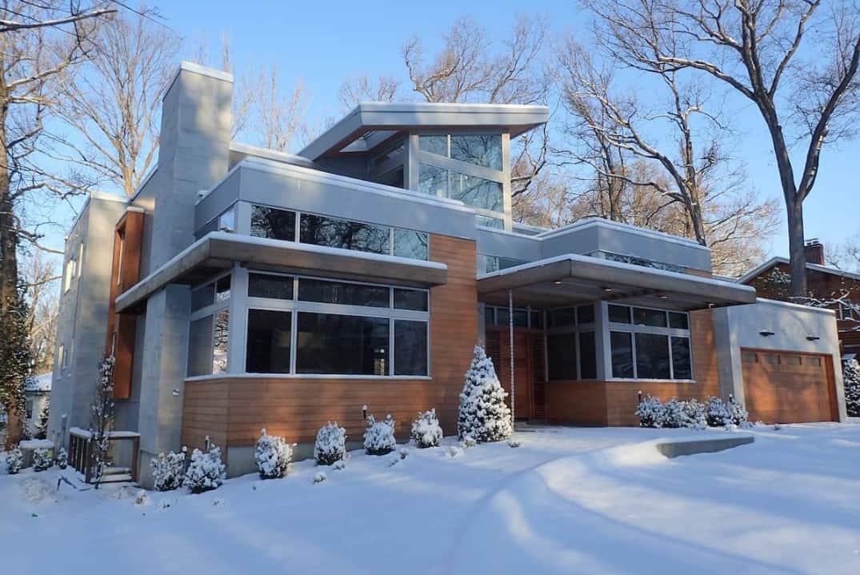 White Cedar Arborvitae House
